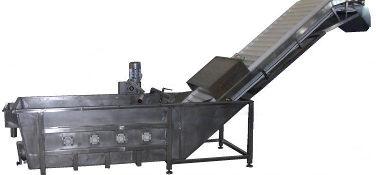KBT/HČ – Mašina za pranje voća i povrća sa horizontalnim četkama