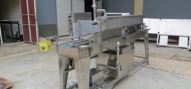 Nalivačica na kišu (mašina za nalivanje tegli i limenki nalivom)